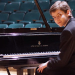photo of Jonathan Cope at a Steinway Baby Grand