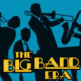 Logo for the Big Band Era radio station